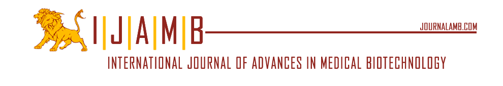 International Journal of Advances in Medical Biotechnology